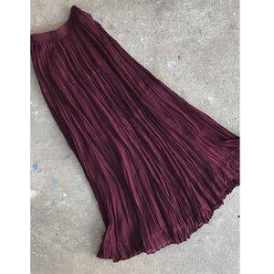 Vintage | Nostalgia | Boho Maxi Skirt